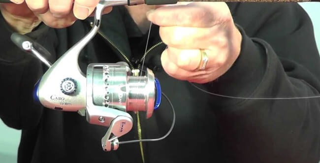 Put Line on a Spinning Reel