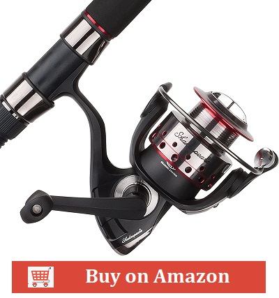 Shakespeare Ugly Stik GX2 Fishing Rod and Spinning Reel Combo