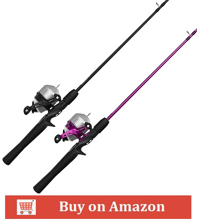Zebco Spincast Reel and Rod Combo