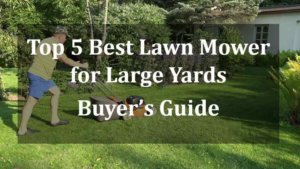 Best Lawn Mower for Large Yards