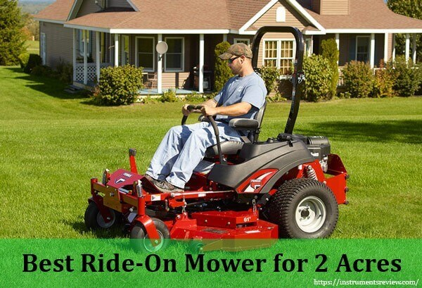 Best Ride On Mower for 2 Acres