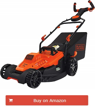 Black + Decker lawn mowers