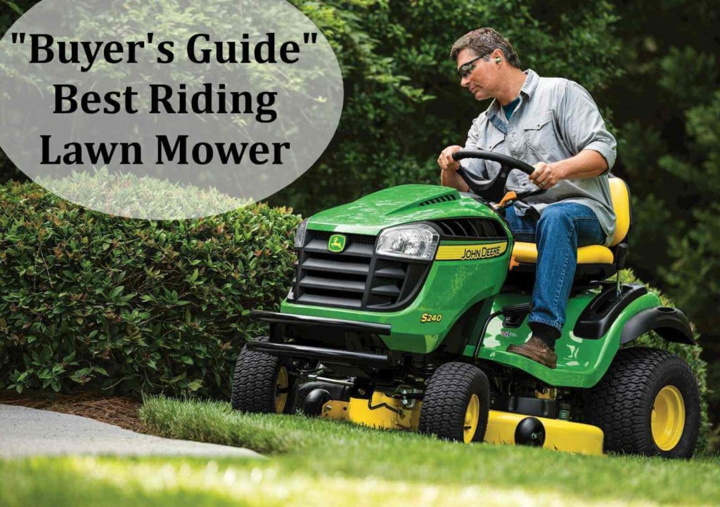 Buyers guide of riding lawn mowers