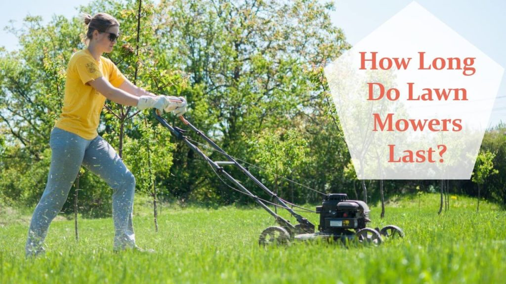 How long do lawn mowers last