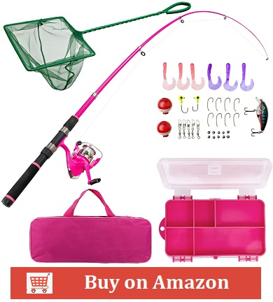 Lanaak Pink Fishing Pole