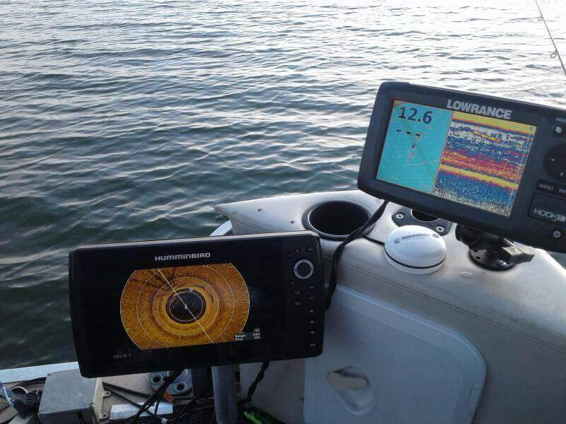 fish finder display