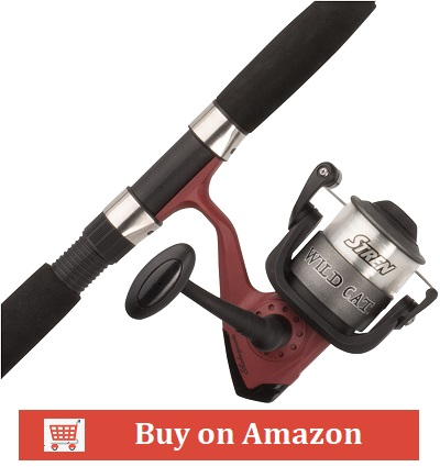 Shakespeare Wild Cat Spincast/Spinning Rod and Reel Combo