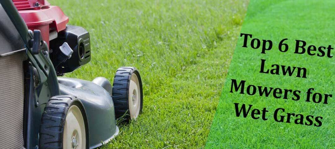 Best Lawn Mowers for Wet Grass